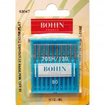 Aghi per macchine da cucire - Bohin - 10 aghi standard n°80/12