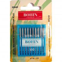 Aghi per macchine da cucire - Bohin - 10 Aghi standard n°16/100