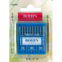 Aghi per macchine da cucire - Bohin - 10 Aghi standard 70/80/90