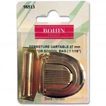 Chiusura della borsa - Prym - Chiusura cartella 27 mm - dorata