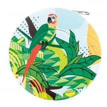 Metro a bobina - Bohin - Centimetro di cucitura giungla - Pappagallo verde