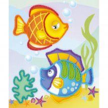 Kit di ricamo con perline - Riolis - Pesce di mare