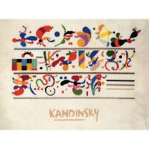 Kit Punto Croce - Riolis - Successione dopo Kandinsky