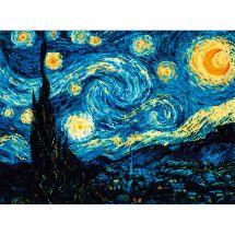 Kit Punto Croce - Riolis - La notte stellata di Van Gogh