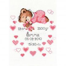 Kit Punto Croce - Riolis - Nascita bimba