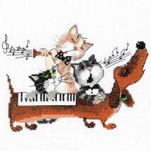 Kit Punto Croce - Riolis - Il blues del bassotto tedesco