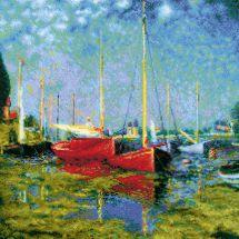 Kit Punto Croce - Riolis - Argenteuil di C. Monet