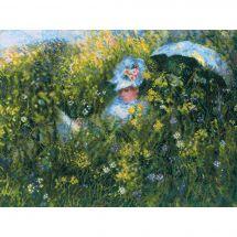 Kit Punto Croce - Riolis - Nel prato di Monet