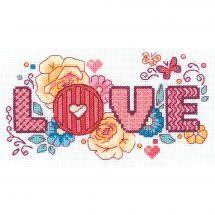 Kit Punto Croce - Riolis - Love