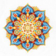Kit Punto Croce - Riolis - Mandala - Energia