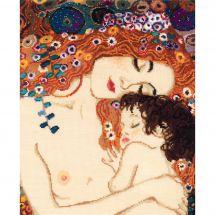 Kit Punto Croce - Riolis - Amore materno di Klimt