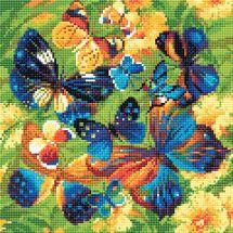 Kit ricamo diamante - Riolis - Farfalle luminose