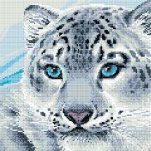Kit ricamo diamante - Riolis - Leopardo delle nevi