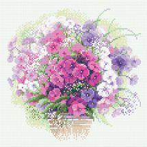 Kit ricamo diamante - Riolis - Acquerello bouquet