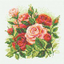 Kit ricamo diamante - Riolis - Rose