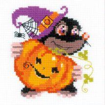 Kit Punto Croce - Riolis - Buon Halloween
