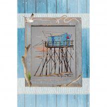 Foglio di punto croce - Isabelle Haccourt Vautier - Con il vento