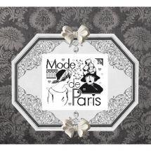Foglio di punto croce - Isabelle Haccourt Vautier - A la mode de Paris