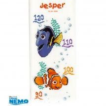 Kit di metri crescita da ricamo - Vervaco - Nemo
