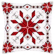 Kit cuscino fori grossi - Vervaco - Cristalli di ghiaccio I