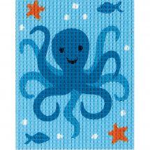 Kit di tela per bambini - Vervaco - Calamaro