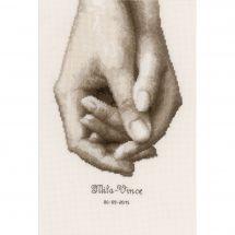 Kit Punto Croce - Vervaco - Mano nella mano