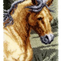 Kit tappeto a punto smirne - Vervaco - Cavallo