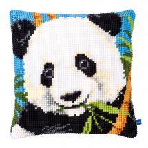 Kit cuscino fori grossi - Vervaco - Panda