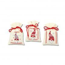 Kit sacchetto profumato da ricamo - Vervaco - Natale