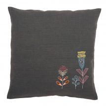 Kit cuscino da ricamo - Vervaco - Fiori stilizzati