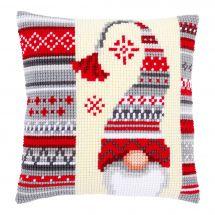 Kit cuscino fori grossi - Vervaco - Folletto di Natale