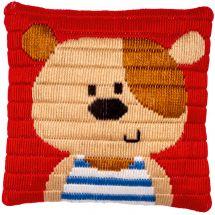 Kit di tela per bambini - Vervaco - orsetto