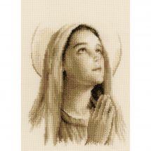 Kit Punto Croce - Vervaco - Sante Maria
