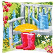 Kit cuscino fori grossi - Vervaco - mio giardino