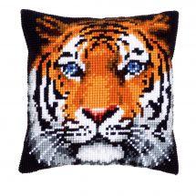 Kit cuscino fori grossi - Vervaco - Tigre