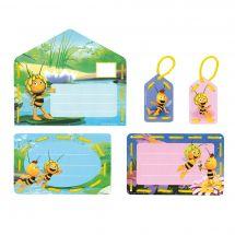 Kit bigliettini da ricamare per bambini - Vervaco - Maya e Willy