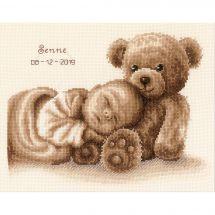 Kit Punto Croce - Vervaco - Bambino ed orso