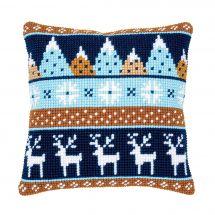 Kit cuscino fori grossi - Vervaco - Modelli invernali 2