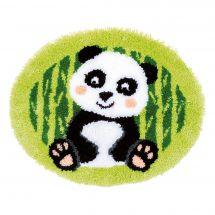 Kit tappeto a punto smirne - Vervaco - Panda