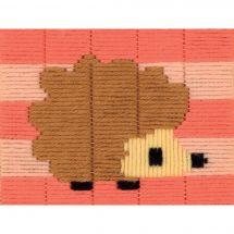 Kit di tela per bambini - Vervaco - Istrice