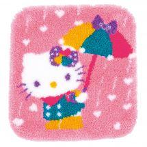 Kit tappeto a punto smirne - Vervaco - Hello Kitty