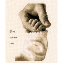Kit Punto Croce - Vervaco - Felicità del bambino