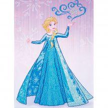 Kit ricamo diamante - Vervaco - Elsa