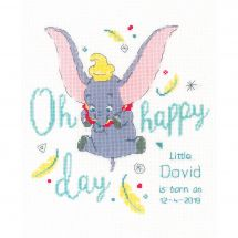 Kit Punto Croce - Vervaco - Dumbo oh happy day