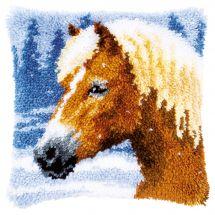 kit cuscini punto smirne - Vervaco - Cavallo
