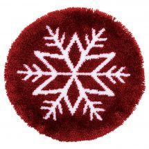 Kit tappeto a punto smirne - Vervaco - Stella di ghiaccio
