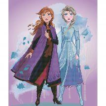 Kit ricamo diamante - Vervaco - Elsa e Anna