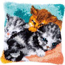 kit cuscini punto smirne - Vervaco - Tre gatti