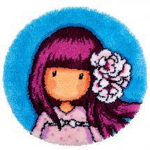Kit tappeto a punto smirne - Vervaco - Cherry blossom
