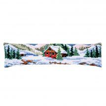 Kit cuscino porta inferiore - Vervaco - Paesaggio d'inverno